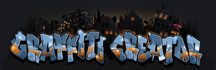 The Graffiti Creator  - This is a free, online flash application which allow you to design your   own name or logotype in graffiti-style. TGC comes with several fonts  from throwups to bubble letters to wildstyles.   The program also have an array of different tools that will help you further enhance your design.