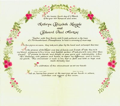 115 best Wedding Certificates images on Pinterest Marriage - certificate of appreciation wordings