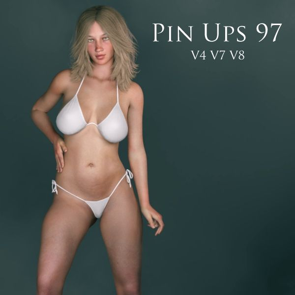 FREE Pin Ups 97 Poses for Victoria 4 (V4), Genesis 3 Female (V7) and Genesis 8 Female (V8) for Poser and DAZ Studio http://www.most-digital-creations.com/freestuff.htm