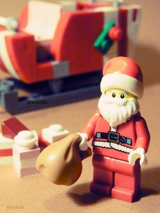 レゴでソリとサンタさん kids lego