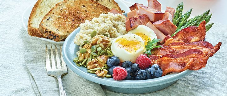 Elevate your senses and your menu with this Hearty Breakfast Bowls recipe from Smithfield.