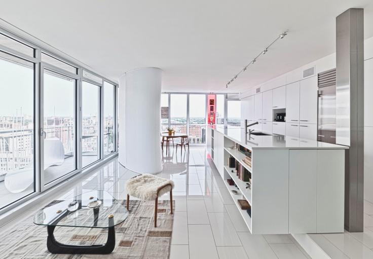 #Urban #Apartment by Kariouk Associates