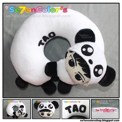 TAO of EXO Neck Pillow - Panda Ver.