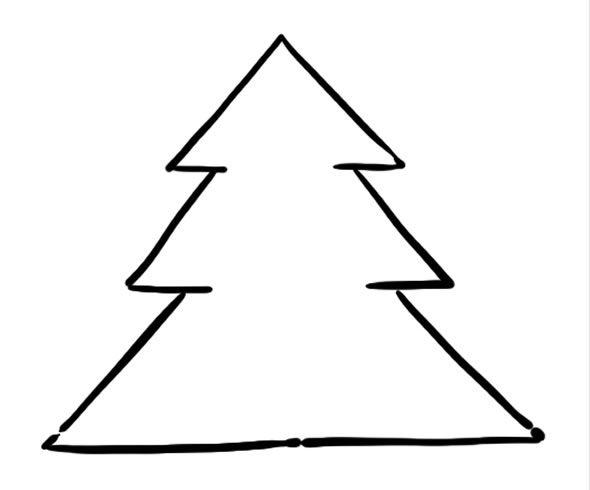 25+ Melhores Ideias De Arvore De Natal Desenho No