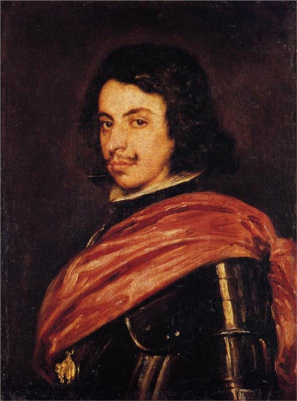 Portrait of Francesco I d'Este, 1639  Diego Velazquez
