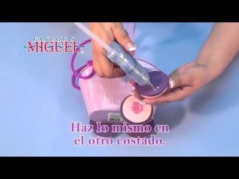 Como Hacer Un Dulcero De Carreola Para Baby Shower - YouTube