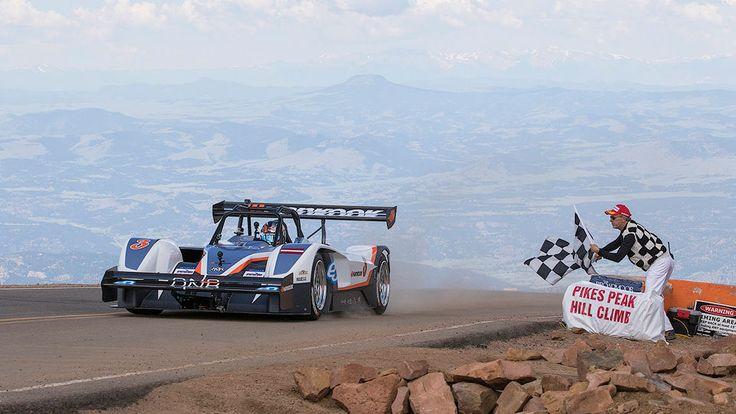 Появился полный онборд рекордного заезда гонки на горе Пайкс Пик