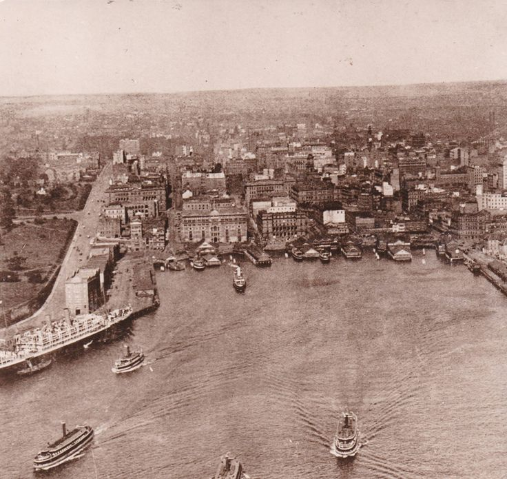 Circular Quay, maybe early 1900s