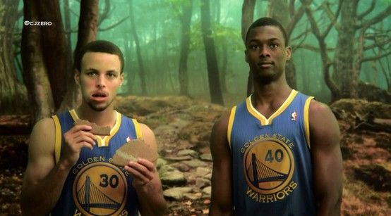Loved this one. Stephen Curry and Harrison Barnes in this funny Fantasy Basketball commercial!