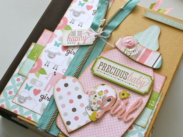 The 25+ best Baby mini album ideas on Pinterest | Mini albums ...