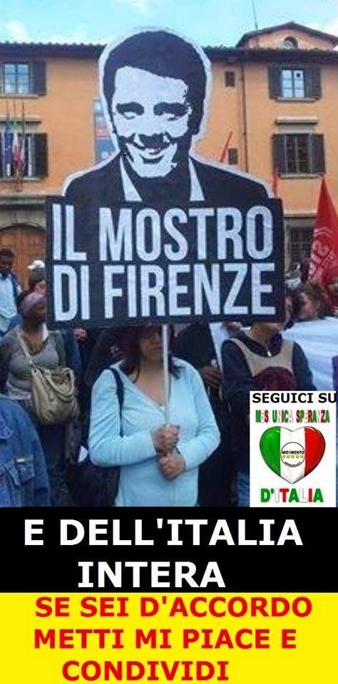 il popolo del blog,: via il mostro dall'italia