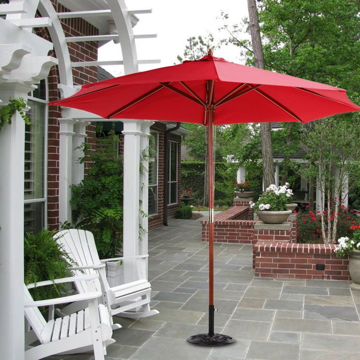 Bright colors give you a bright summer. Garden Outdoor Umbrella Low to US$36.99 NOW!!