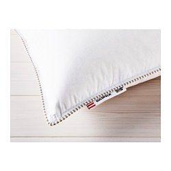 IKEA - GULDPALM, Kissen, fest, 80x80 cm, , Ein gut gefülltes Kissen für alle, die eine festere Unterlage bevorzugen.Formbares Kissen, das dank der weichen Füllung aus Daunen und Federn angenehm stützt und feuchtigkeitsausgleichend wirkt.Baumwollbezug und Füllung wirken atmungsaktiv. Das sorgt für gute Belüftung und gleichmäßig angenehmes Schlafklima.Waschbar bei 60°, einer Temperatur, die Milben abtötet.