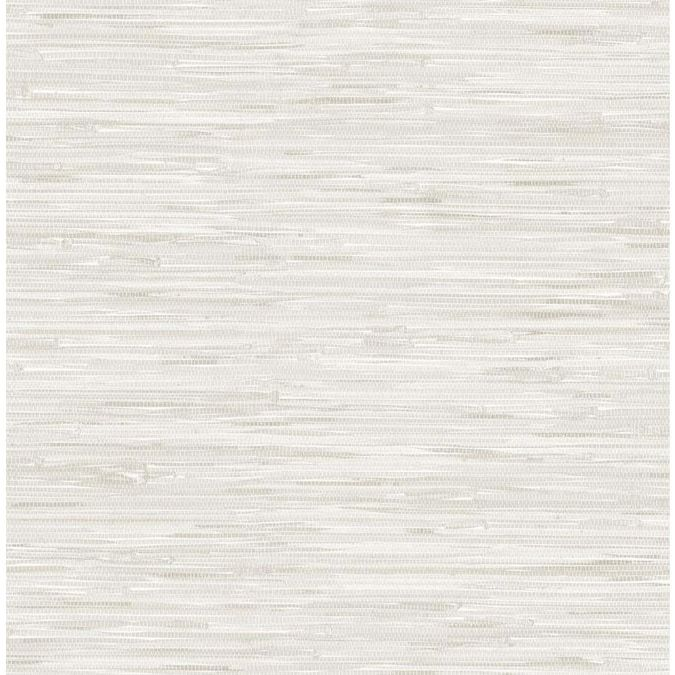 Nuwallpaper 30 75 Sq Ft Off White Vinyl Grasscloth Self Adhesive Peel And Stick Wallpaper Lowes Com Peel And Stick Wallpaper Nuwallpaper Vinyl Wallpaper