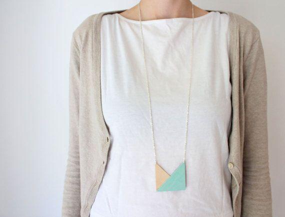 mint  DIY necklace!