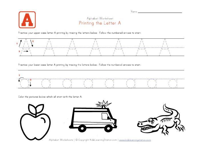 1000+ ideas about Alphabet Worksheets on Pinterest | Letter ...