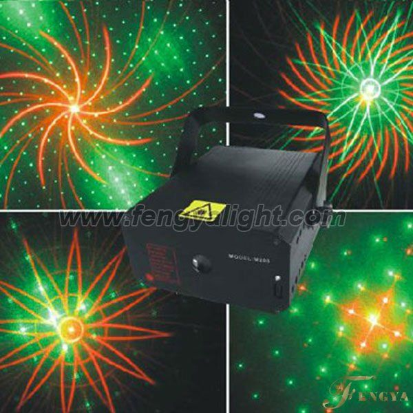 140mw disco laser light red and green colorsound activated, single photo,auto running, Black out, DMX 6CH