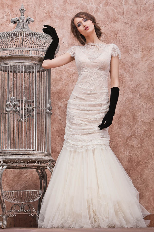 Model: Aide | Colecția: Reflexii 2013 | Divine Atelier | http://divine.ro                Collection #wedding #dress #bride