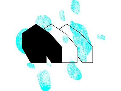 Cadre Logo by irina popescu #logo #symbol #icon #shape #branding #idea #color #splash #farm #farmhouse #frame #buildingframe #3 #elements #graphic