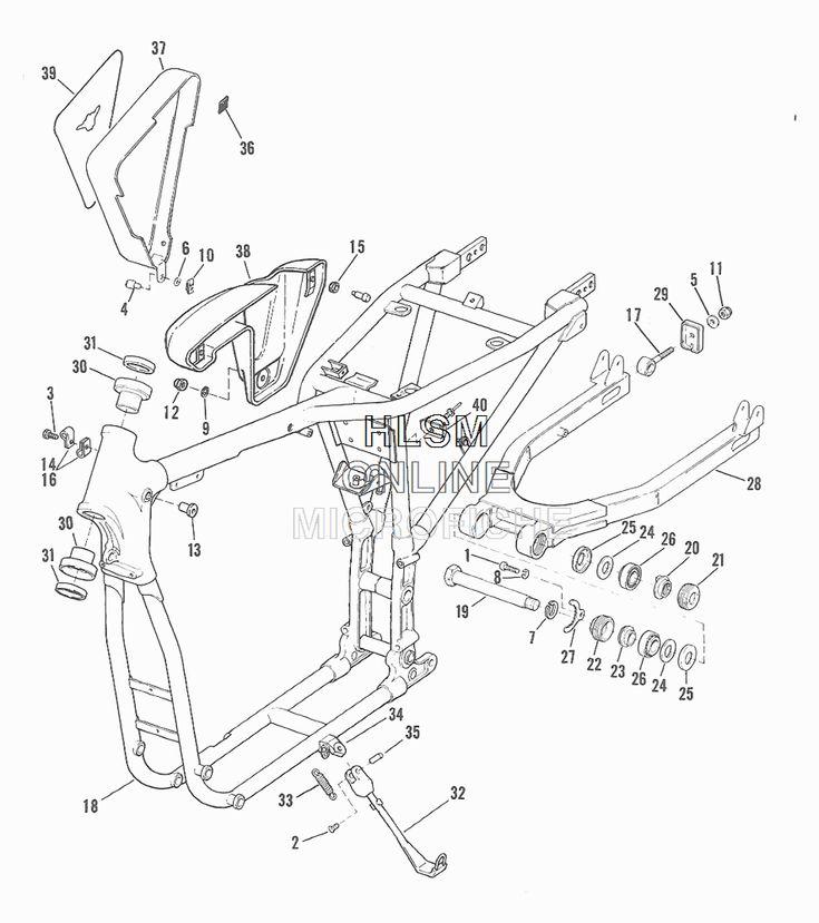"Harley-Davidson XL 1000 Sportster ""Ironhead"" 1975-1986"