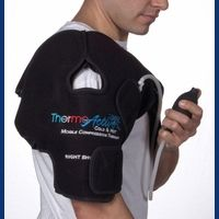 Shoulder Ice or Heat Wrap with Air Compression