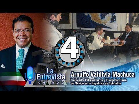 La Entrevista con Arnulfo Valdivia Machuca, hablando de: Comercio Mundial