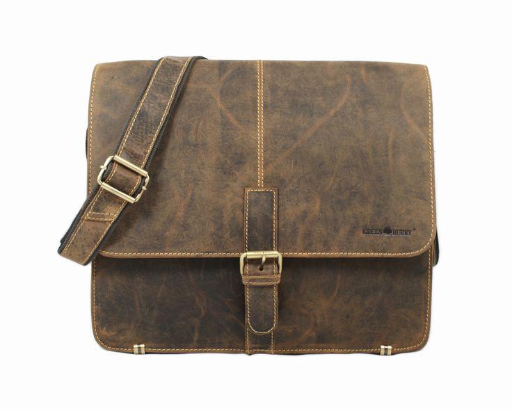 Pojemna męska torba na ramię niemieckiej marki Greenburry z kolekcji Vintage. Idealnie sprawdzi się na co dzień jak i do pracy. Skóra z której została wykonana z wiekiem nabiera charakteru. TECZKA SKÓRZANA LEKARSKA 1744A-25 #greenburry #GreenburryPolska #vintage #torbamęska #teczka #torbaskórzana #torba #torby #teczki www.greenburry.pl/