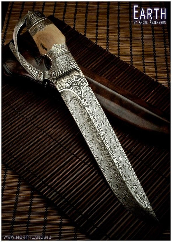 Work from 2009 | André Andersson Custom Knives - null