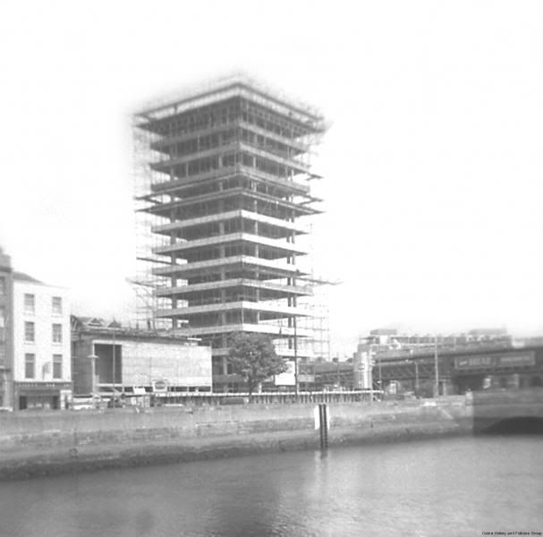 Liberty Hall Dublin under construction