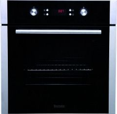 baumatic b630mc single built in electric oven pyrolytic