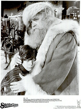 David Huddleston Christian Fitzpatrick 1985 Santa Claus the Movie. This is THE only Santa in my mind