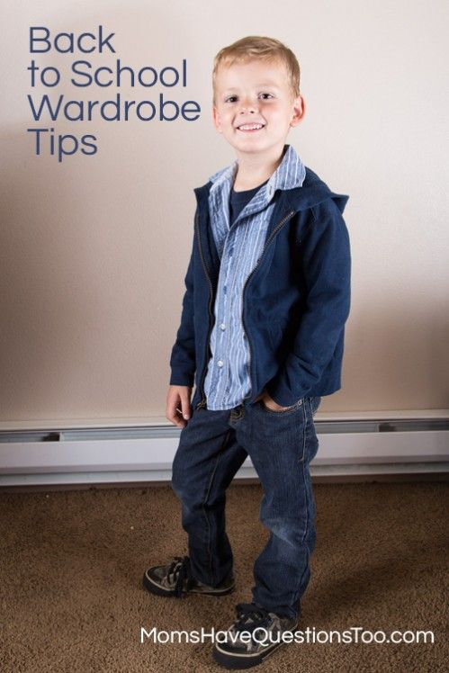 Back to School Outfits | Back to School Wardrobe Building Tips - Moms Have Questions Too