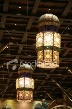 Big Lanterns Royalty Free Stock Photo
