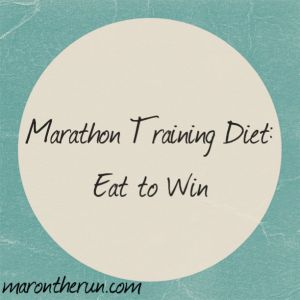 Marathon Training Diet