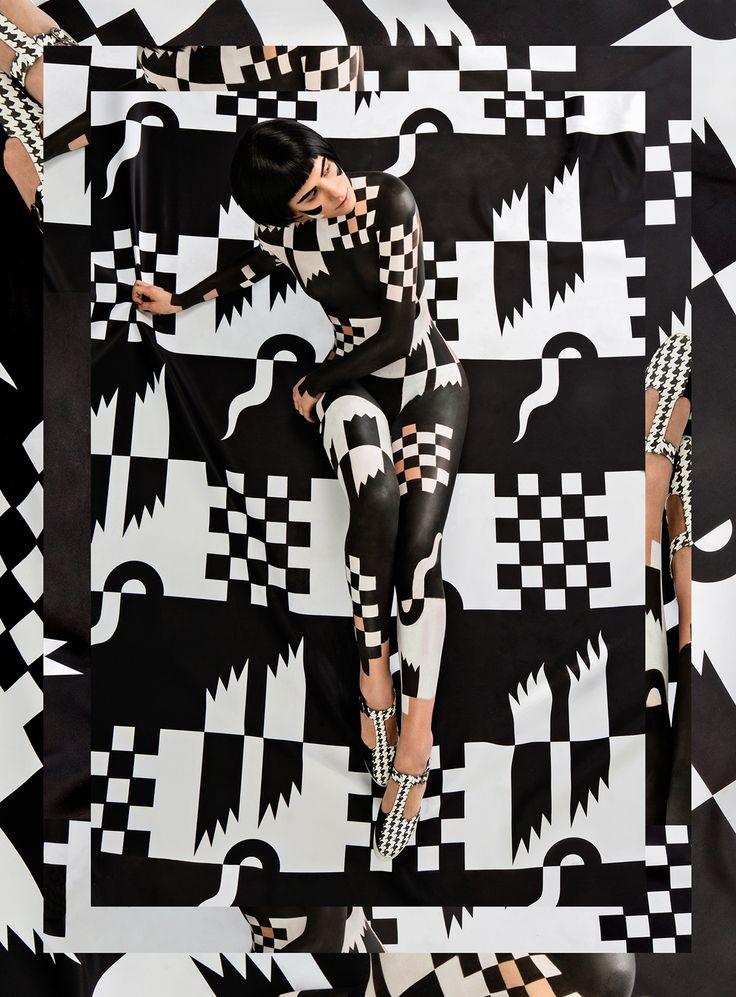 Art Direction & Illustration: Janine RewellBodypaint: Saara Sarvas & Riina LainePhotography: Jonas LundqvistFilm & Edit: Rasmus Wilén