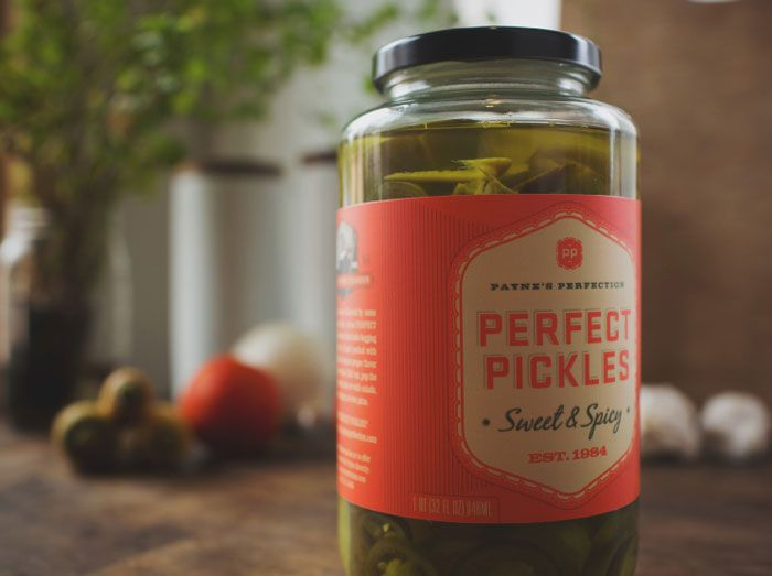 Perfect Pickles: Fonts Inspiration, Perfect Branding Packaging, Perfect Brandingpackag, Design Trends, Packaging Design, Graphics Design, Caava Design, Perfect Pickled, Payne Perfect