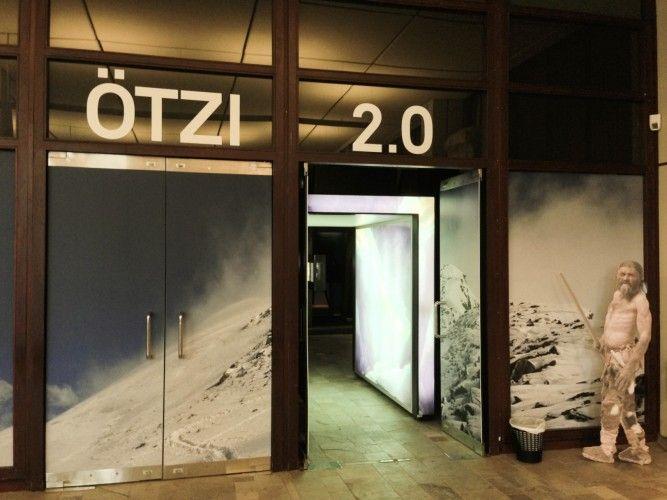 Ötzi 2.0 - Neues von der Eismumie. Bis Ende August 2014 in München zu sehen