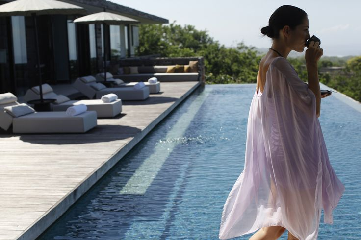 Enjoy being embrace by the private space offered at Alila Villas Uluwatu