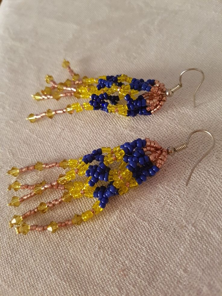 Jelly fish earings with crystal