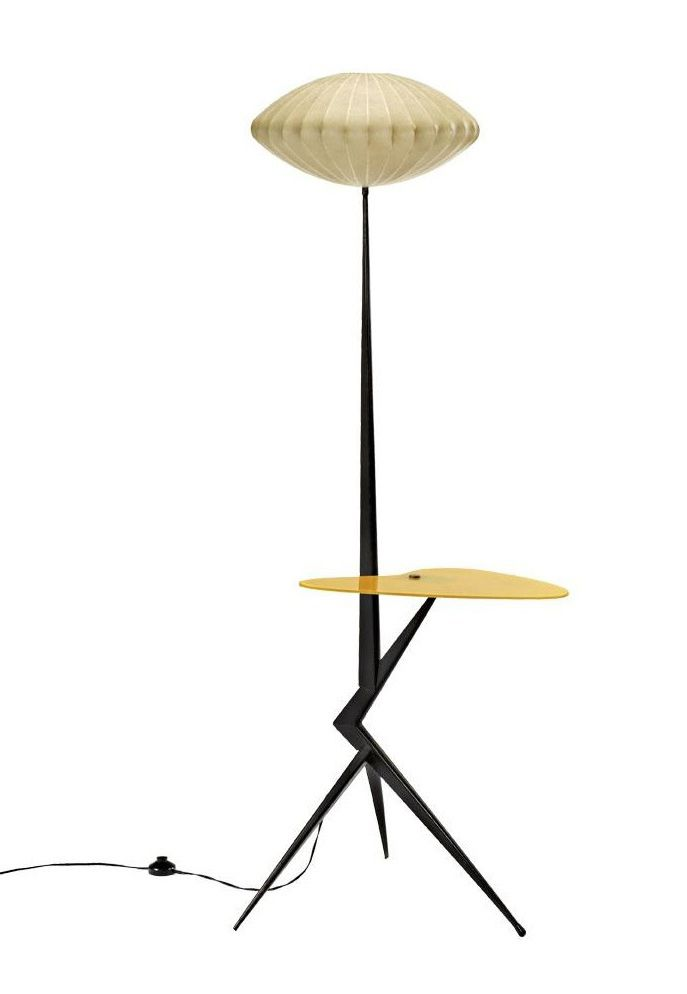 Mid Century floor lamp--- I may pass out from the goodness..... I want. I want. I want.