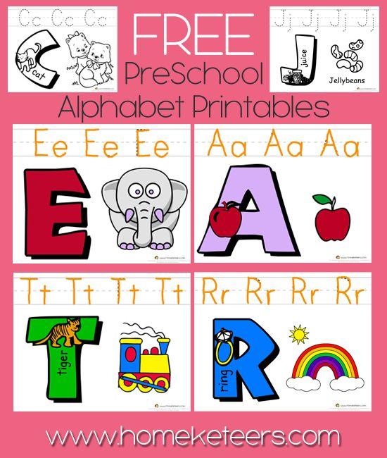 ABC Preschool Printable