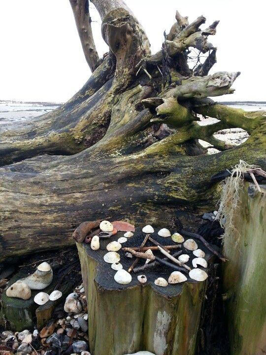 Beach altar