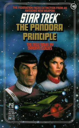 """The Pandora Principle (Star Trek, Book 49)"" av Carolyn Clowes"