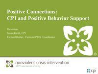 Positive Behavior Support (PBIS) | Behavior Intervention | CPI