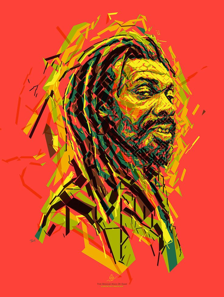 www.cewax.fr aime cet art - Charis Tsevis International Reggae Poster Contest