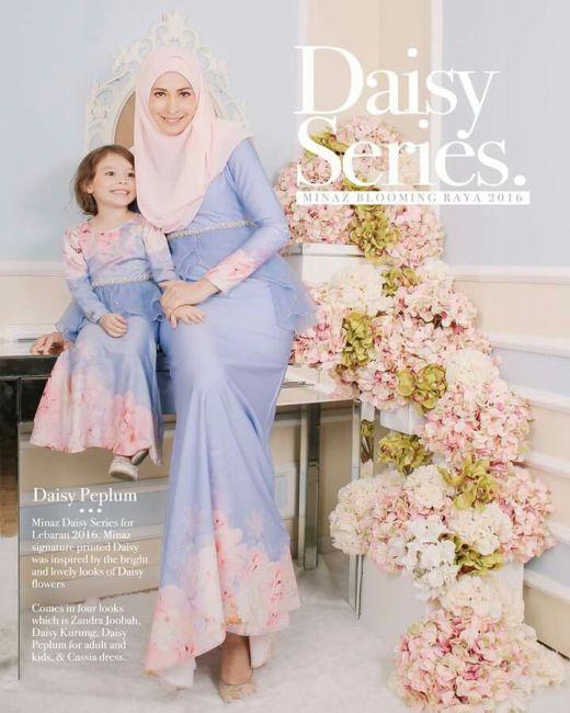 موديلات للام وابنتها , hijab fashion for mother and daughter