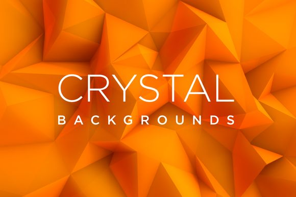 Crystal Backgrounds by MCh on @creativemarket