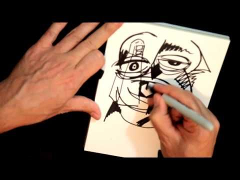 LIVE Real time surreal drawing Sketching by RAEART