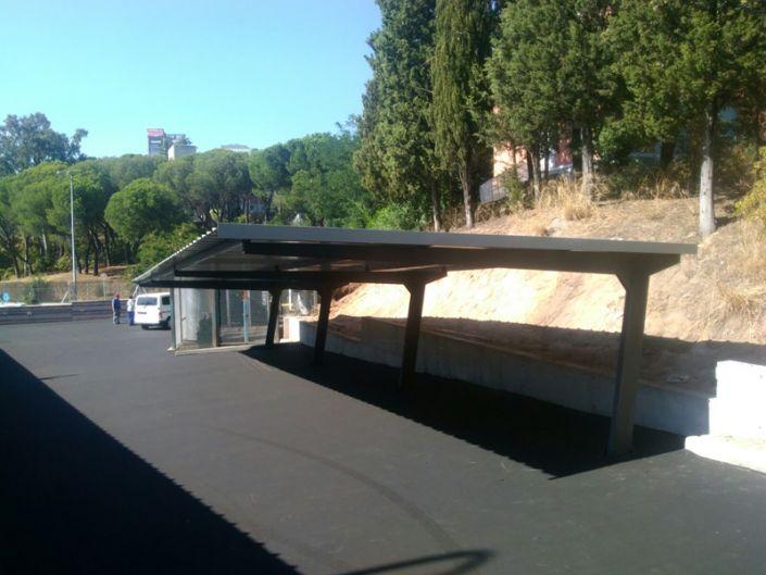 Marina Española parking