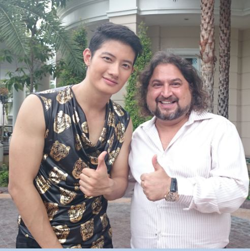 Pae-Arak Amornsupasiri the Renowned Actor With Dr. Sunil Phol , After Getting #Dental Treatment from Dr. Sunil Dental Clinic